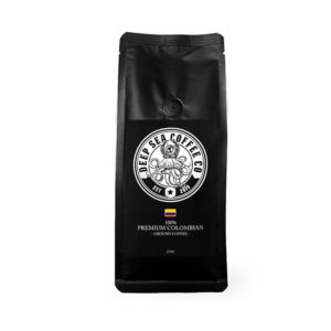 100% PREMIUM COLOMBIAN GROUND COFFEE